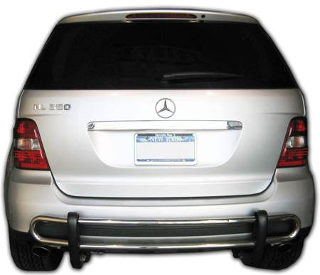mercedes bumper guard