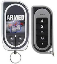 Color Viper 2-way remote start with car alarm