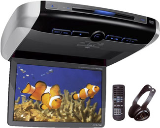 alpine dvd player for car