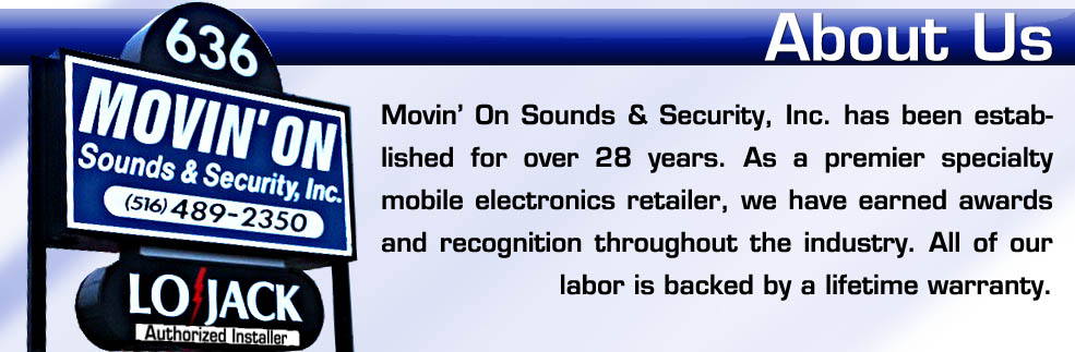 About Movin' On Sounds & Security, Inc.