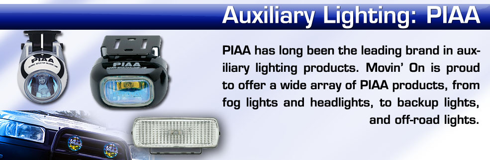 piaa auxiliary driving fog lights