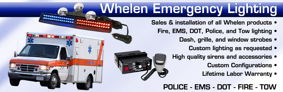 whelen police fire ems lighting systems