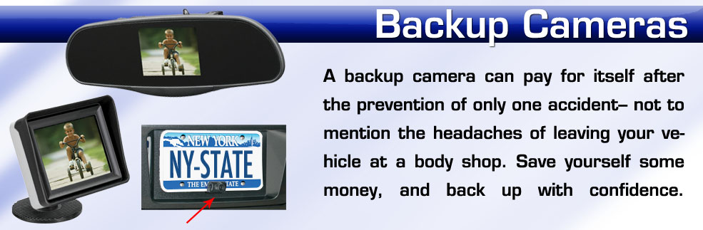 Backup cameras installed in new york on long island nassau county