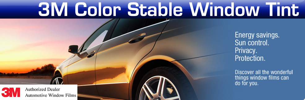3M Color Stable Window Tint
