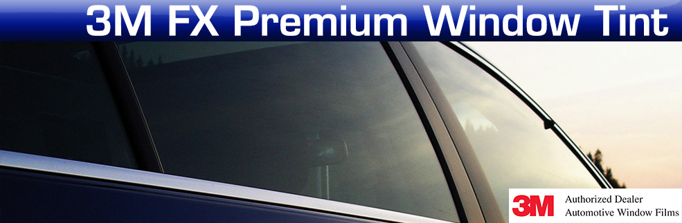 3M FX Premium Window Tint