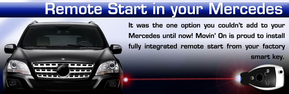 Remote start specifically designed for Mercedes Benz