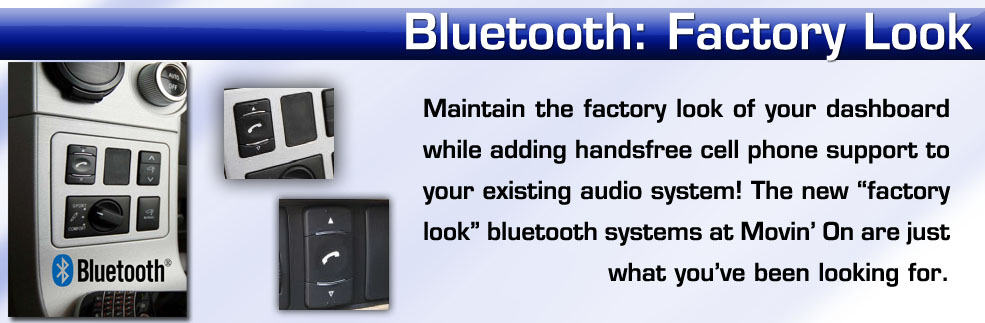 bluetooth handsfree kit that looks like factory