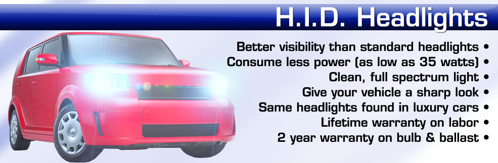 Car HID kits installed in new york on long island nassau county