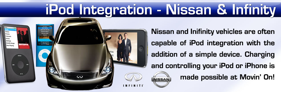 iPod adapters for your nissan vehicle installed in New York on Long Island Nassau County