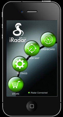 iRadar iphone app