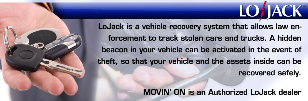 Lojack vehicle recovery system installed in New York on Long Island Nassau County