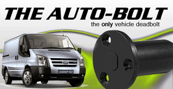 the autobolt vehicle deadbolt system offers ultimate security for your work truck