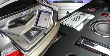 custom car audio installations