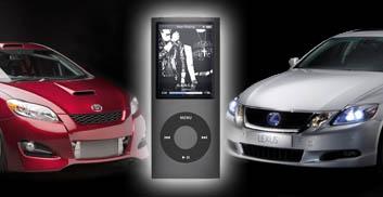 Lexus and Toyota iPod interfaces