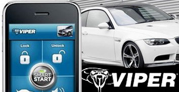viper smart start lets you start your car from your iphone. Installed here at Movin' on on Long Island