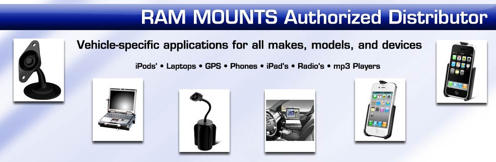 Ram laptop vehicle mounting systems installed in New York on Long Island Nassau County