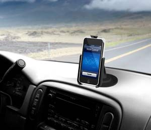 vehicle iphone mount