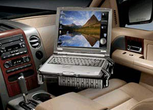 vehicle laptop mount
