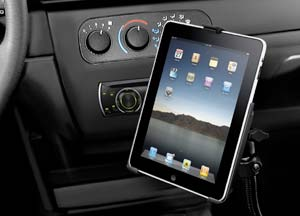 vehicle Apple ipad mount