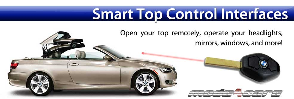 Smart Top Control Interfaces